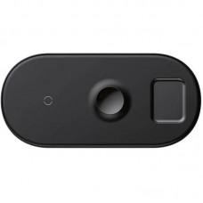 Беспроводное зарядное устройство Baseus 3 в 1 (WX3IN1-C01) 18W Black (Phone + Watch +Pods)