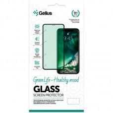 Защитное стекло Gelius Green Life Full Glue для iPhone 12 Black
