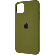Чехол накладка TPU SK Original Full Soft для iPhone 5 5S SE Pinery Green