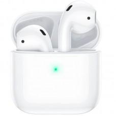 Наушники гарнитура вкладыши Bluetooth Hoco ES46 White