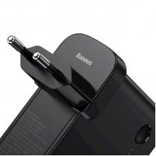 Адаптер сетевой 2 в 1 Baseus PS QC3.0 1USB 3A 45W Type-C + Power Bank 10000mAh Black (PPNLD-C01)