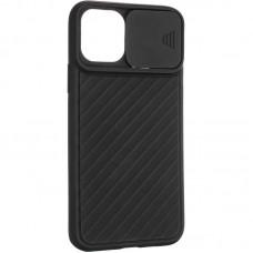 Чехол накладка TPU SK Carbon Camera Air для iPhone 12 Mini Black