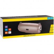 Колонка портативная Bluetooth Oudiobop LN25 Grey