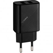 Адаптер сетевой 2USB Gelius Pro Vogue GP-HC011 2.4A Black