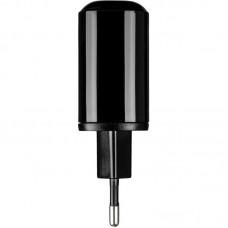 Адаптер сетевой 1USB Type-C Gelius Pro Zion QC3.0 PD2.0 18W LCD 3A Black GP-HC010