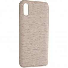 Чехол накладка TPU Gelius Canvas для Xiaomi Redmi 9a Beige