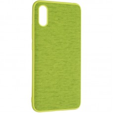 Чехол накладка TPU Gelius Canvas для Xiaomi Redmi 9a Green