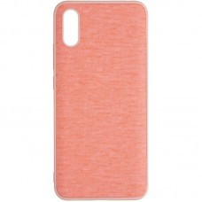 Чехол накладка TPU Gelius Canvas для Xiaomi Redmi 9a Pink