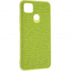 Чехол накладка TPU Gelius Canvas для Xiaomi Redmi 9c Green