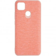 Чехол накладка TPU Gelius Canvas для Xiaomi Redmi 9c Pink