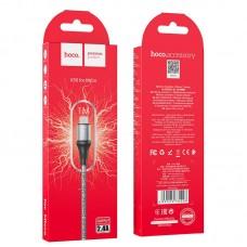 Кабель USB-MicroUSB Hoco X50 Excellent 2.4A 1m Black