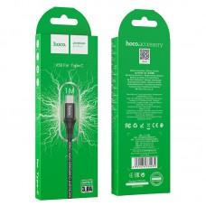 Кабель USB-Type-C Hoco X50 Excellent 3A 1m Black
