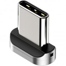 Адаптер Type-C Magnetic Baseus Zinc Silver (CATXC-E)