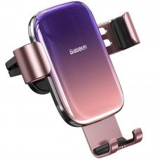 Автодержатель Baseus Glaze Gravity Car Mount на решетку (SUYL-LG04) Pink