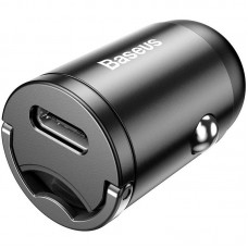 АЗУ Baseus Tiny Star Mini Type-C + Cable Type-C-Lightning PPS QC 30W 5A 1m (TZVCHX-0G) Grey