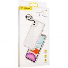 Чехол накладка TPU SK Magnet MagSafe для iPhone 12 Pro Max Transparent
