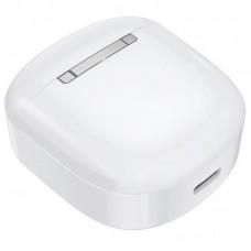 Наушники гарнитура вкладыши Bluetooth Hoco ES45 White