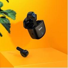 Наушники гарнитура вкладыши Bluetooth Hoco ES45 Black