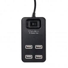 USB HUB USB-USB SK P-1601 4USB 2.0 Black