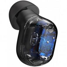 Наушники гарнитура вакуумные Bluetooth 5.0 Baseus WM01 Black