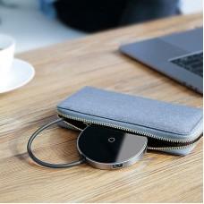 БЗУ Baseus Circular Mirror Wireless Hub 4USB Type-C-USB 3.0 PD 60W (WXJMY-0G) Gray