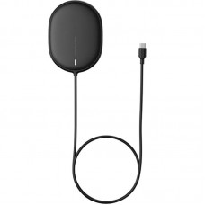БЗУ Baseus Light Magnetic iPhone 12 Gen Wireless Type-C 1.5m 2A 15W (WXQJ-01) Black