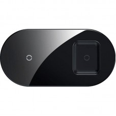 БЗУ Baseus Simple 2 in 1 (Phone + Pods) QC 3.0 2A 7.5W (WXJK-01) Black