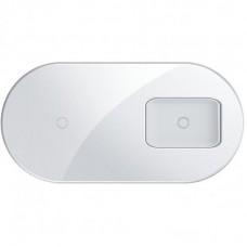 БЗУ 2в1 Baseus Simple Pro Edition 7.5W 2A (WXJK-C02) White