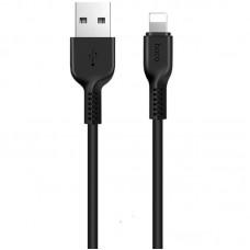 Кабель Hoco USB-Lightning X20 Flash Charged 2.4A 1m Black