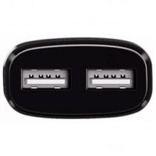 СЗУ 2USB Hoco C12 2.4A + Cable USB-Type-C Black