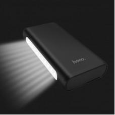 УМБ Hoco J60 Snowflake Table Lamp 4USB 1Type-C 2A 30000mAh Black