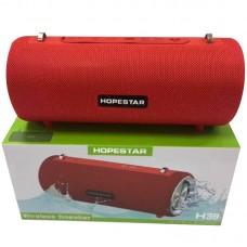 Колонка портативная Bluetooth Hopestar H39 Red