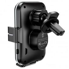 Автодержатель Wireless Hoco CA80 на решетку Black