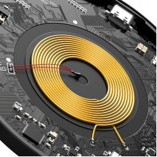 БЗУ Baseus Simple Magnetic QC 3.0 15W 2A(WXJK-E01) Black