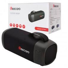 Колонка портативная Bluetooth BeeCaro GF 401 Black