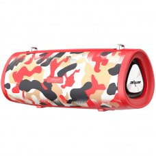 Колонка портативная Bluetooth Zealot S39 Red Camouflage