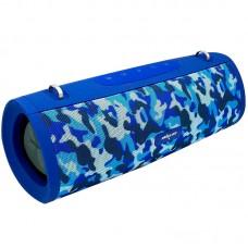 Колонка портативная Bluetooth Zealot S39 Blue Camouflage