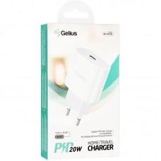 Адаптер сетевой Type-C Gelius Pro PD 20W GP-HC012 3A White