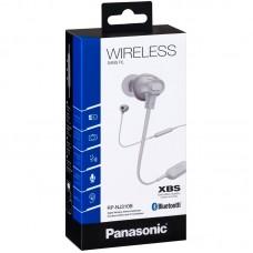 Наушники гарнитура вакуумные Bluetooth Panasonic RP-NJ310BGEW White
