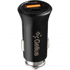 АЗУ Gelius Pro Twix 1USB Type-C QC PD 18W 3.1A + Cable USB-MicroUSB Black (GP-CC006)
