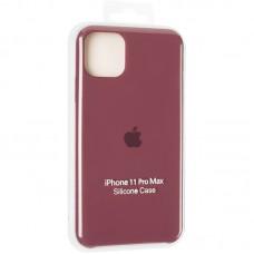 Чехол накладка TPU SK Soft Matte для iPhone 12 Mini Maroon
