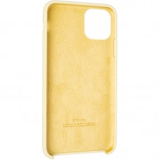 Чехол накладка TPU SK Soft Matte для iPhone 12 Mini Mellow Yellow