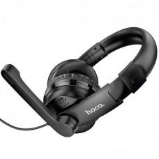 Наушники гарнитура накладные Hoco W103 Magic Black