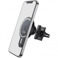 Автодержатель Hoco CA85 Wireless 15W дефлектор Black