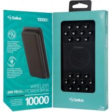 УМБ Gelius Pro Velcro Wireless GP-PBW1120 PD 20W 2A 2USB Type-C 10000mAh Black