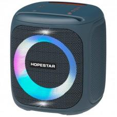 Колонка портативная Bluetooth Hopestar Party 100 (Led) Blue