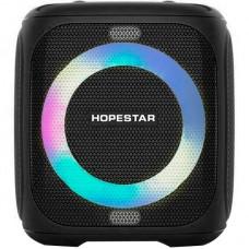 Колонка портативная Bluetooth Hopestar Party 100 (Led) Black