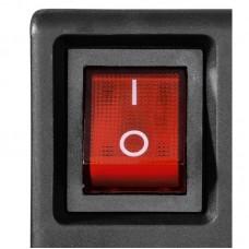 Сетевой фильтр Hama (00121946) 6 розеток + 6 выкл 16A Black