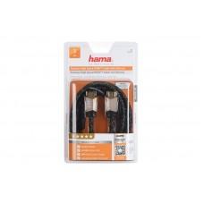 Кабель Hama (00122211) HDMI-HDMI Premium M/M High Speed 3m Black