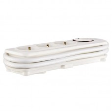 Сетевой фильтр Hama (00137269) 3 розетки 1.5m 16A White